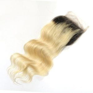 Loose Wave Russian Blonde Full Lace Hair Wigs Closure