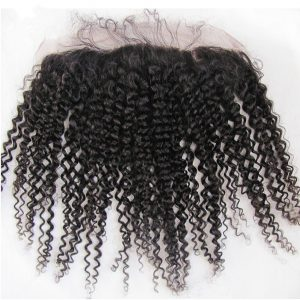 Kinky Curly Deep Wave Lace Frontal Wigs for Natural Looking Hairline